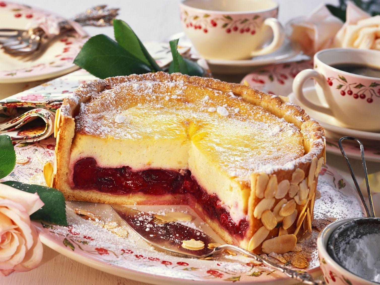 Kase Kirsch Torte Rezept Eat Smarter