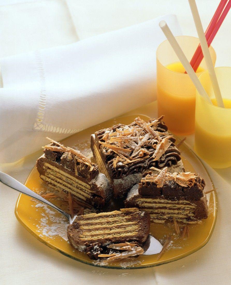 Kalter Hund Schokoladen Keks Kuchen Rezept Eat Smarter