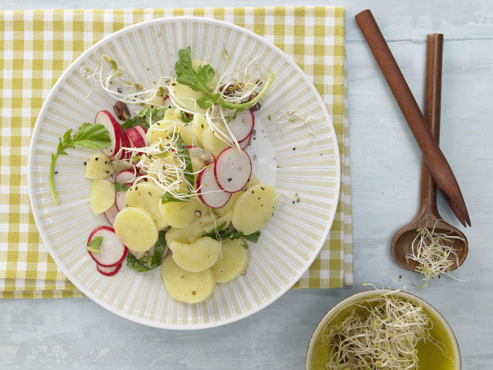 Kartoffel Kcal kartoffel radieschen salat rezept eat smarter