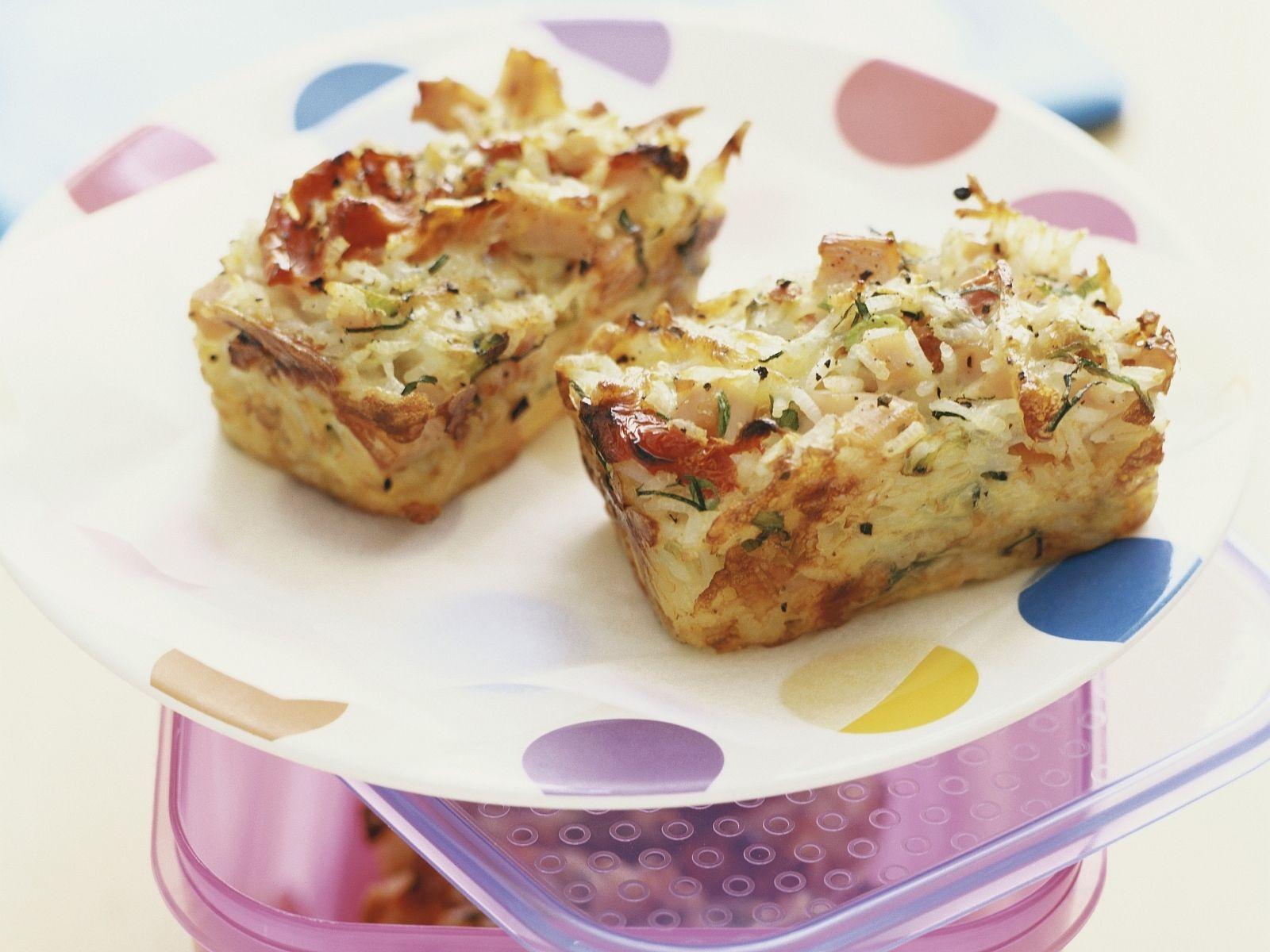 Kartoffel Schinken Kuchen Mit Krautern Rezept Eat Smarter