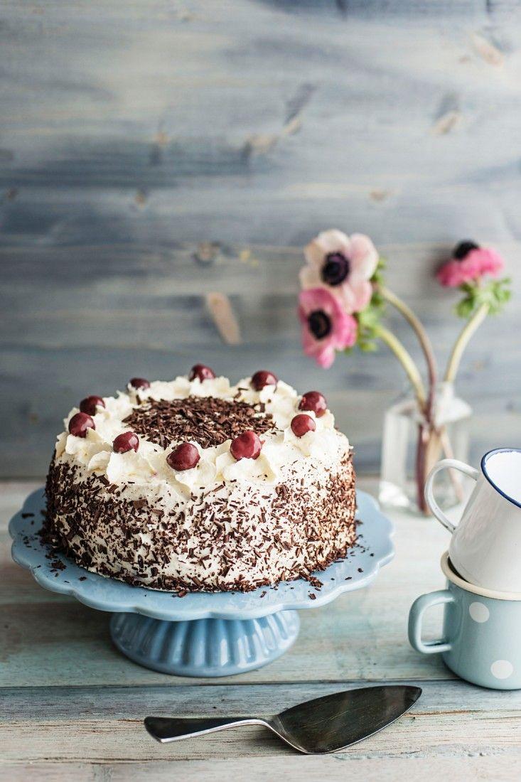 Kirsch Sahne Torte Schokolade Vegetarisch Rezept Eat Smarter