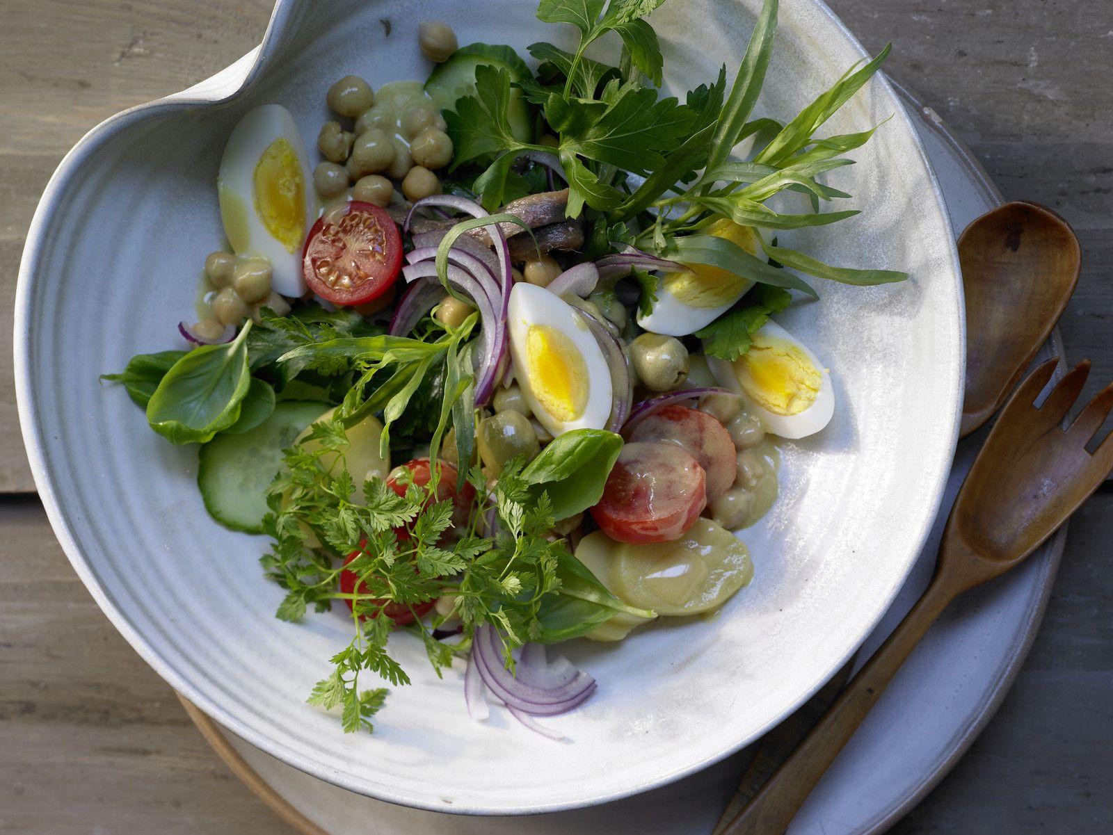 Kartoffel Kcal kräuter kartoffel salat rezept eat smarter