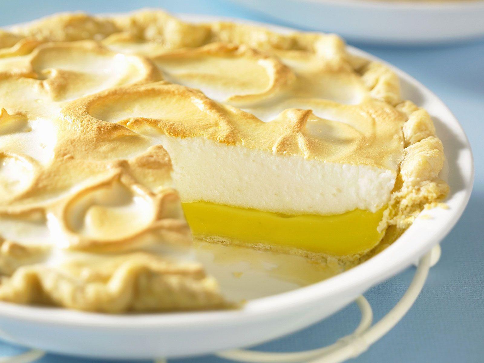 Lemon Baiser Kuchen Rezept Eat Smarter