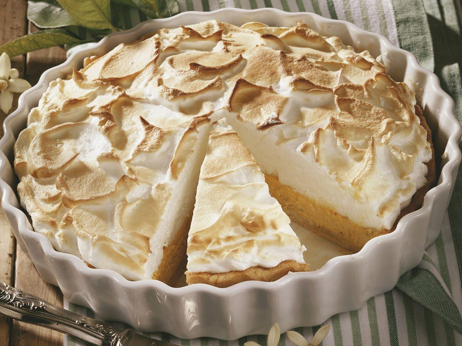 Limetten Baiser Kuchen Key Lime Pie Rezept Eat Smarter