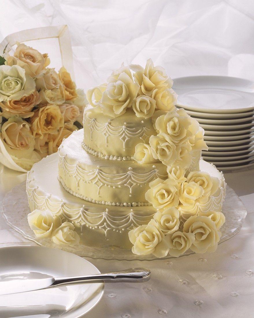 Marzipan Hochzeitstorte Rezept Eat Smarter