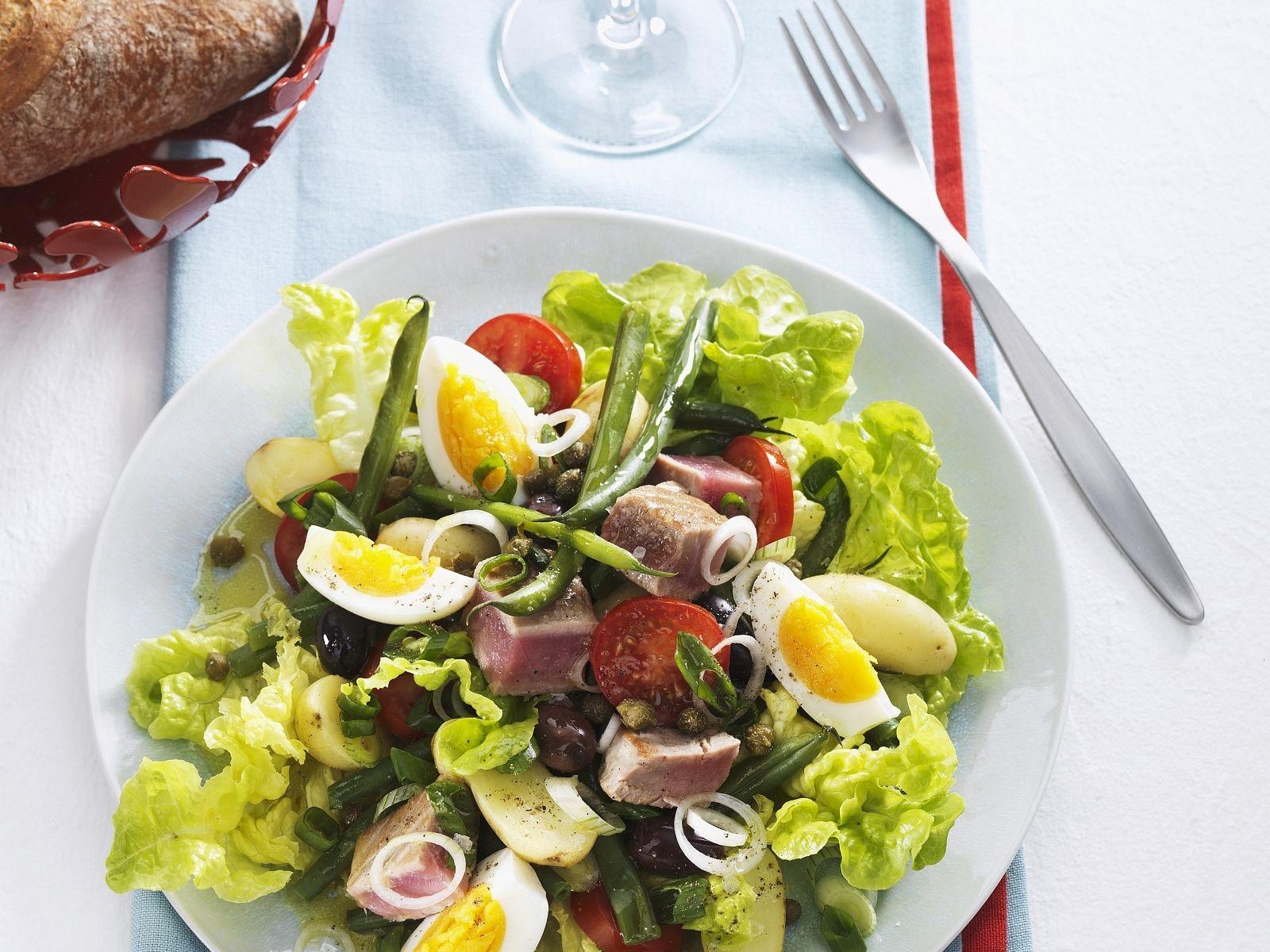 Thunfisch und grüner Apfel Diät