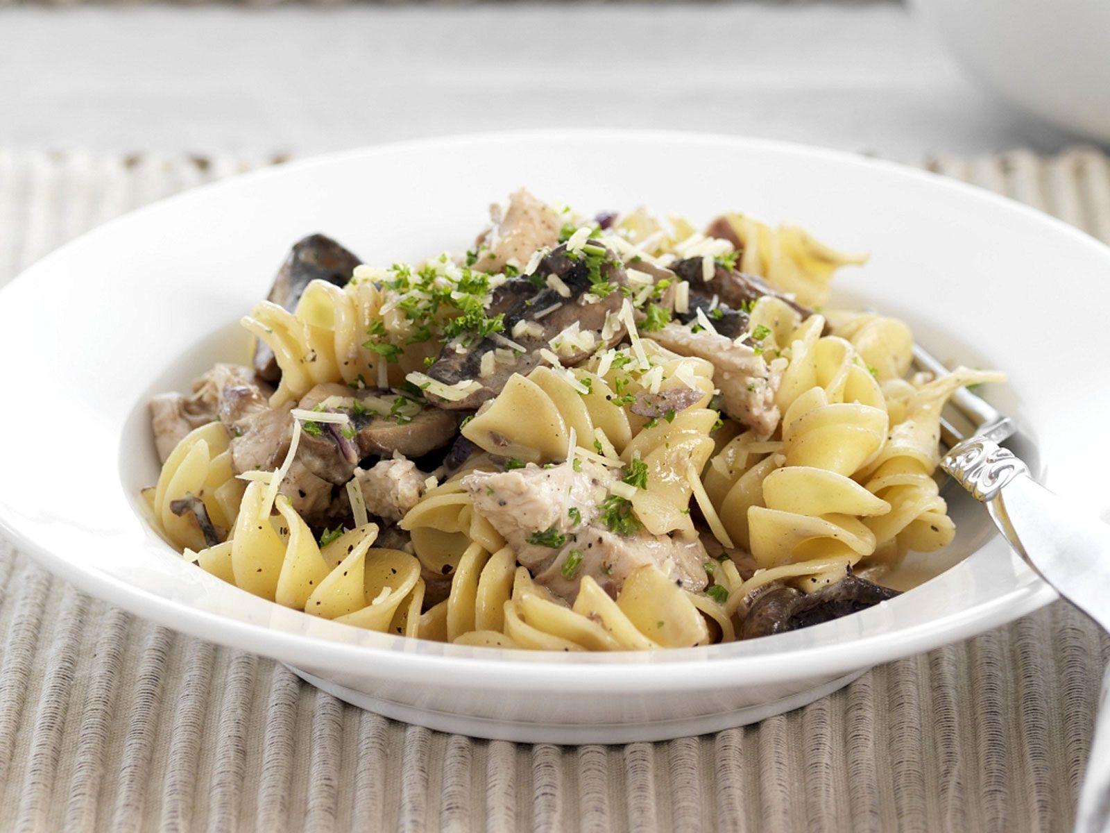 Top Nudeln mit Hähnchen und Pilzen Rezept | EAT SMARTER &VK_67