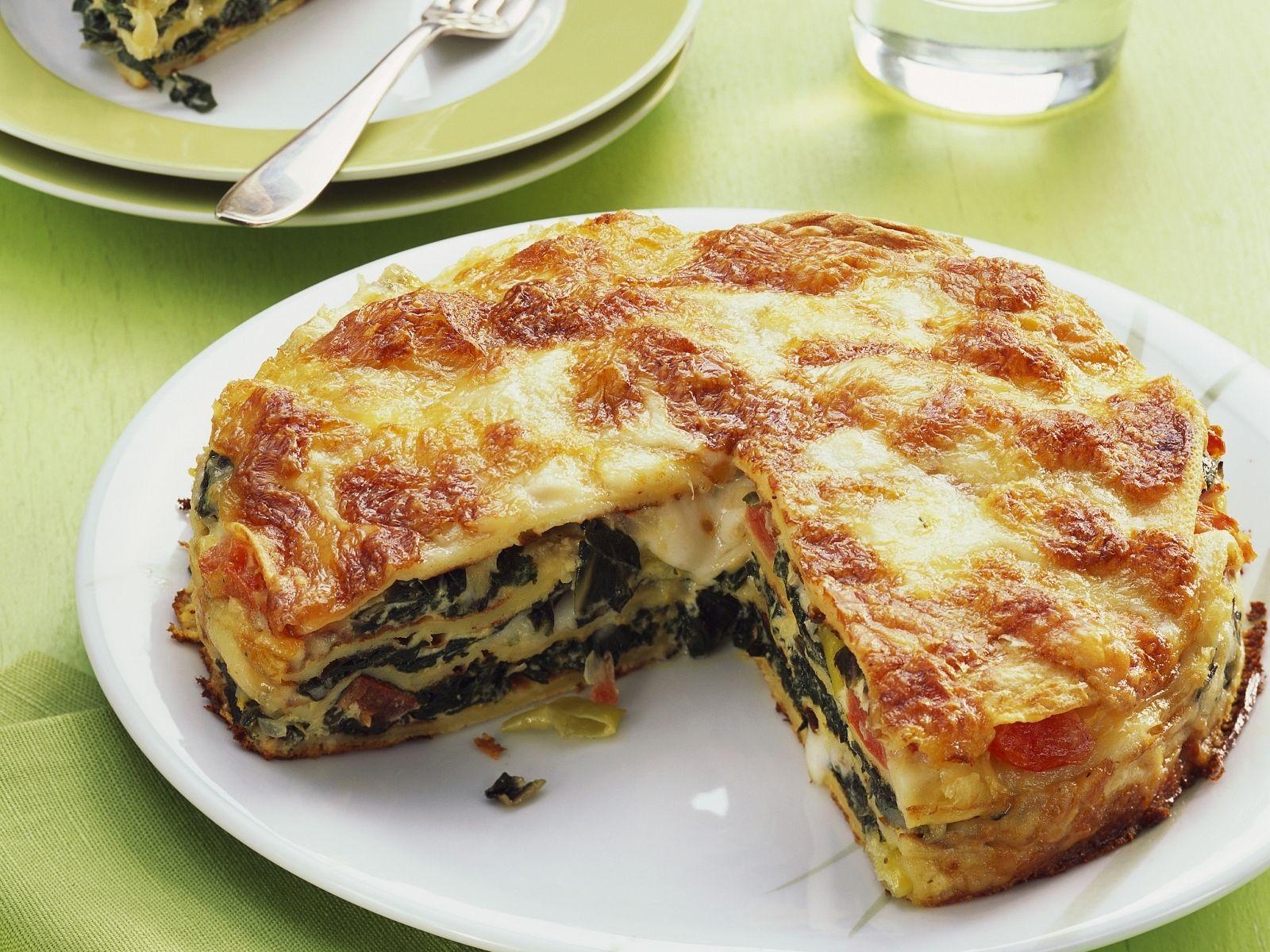 Pfannkuchenauflauf Mit Mangold Rezept Eat Smarter