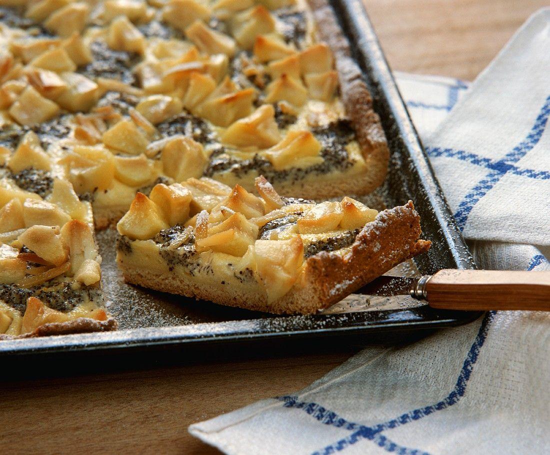 Quarkkuchen Mit Apfel Und Mohn Rezept Eat Smarter