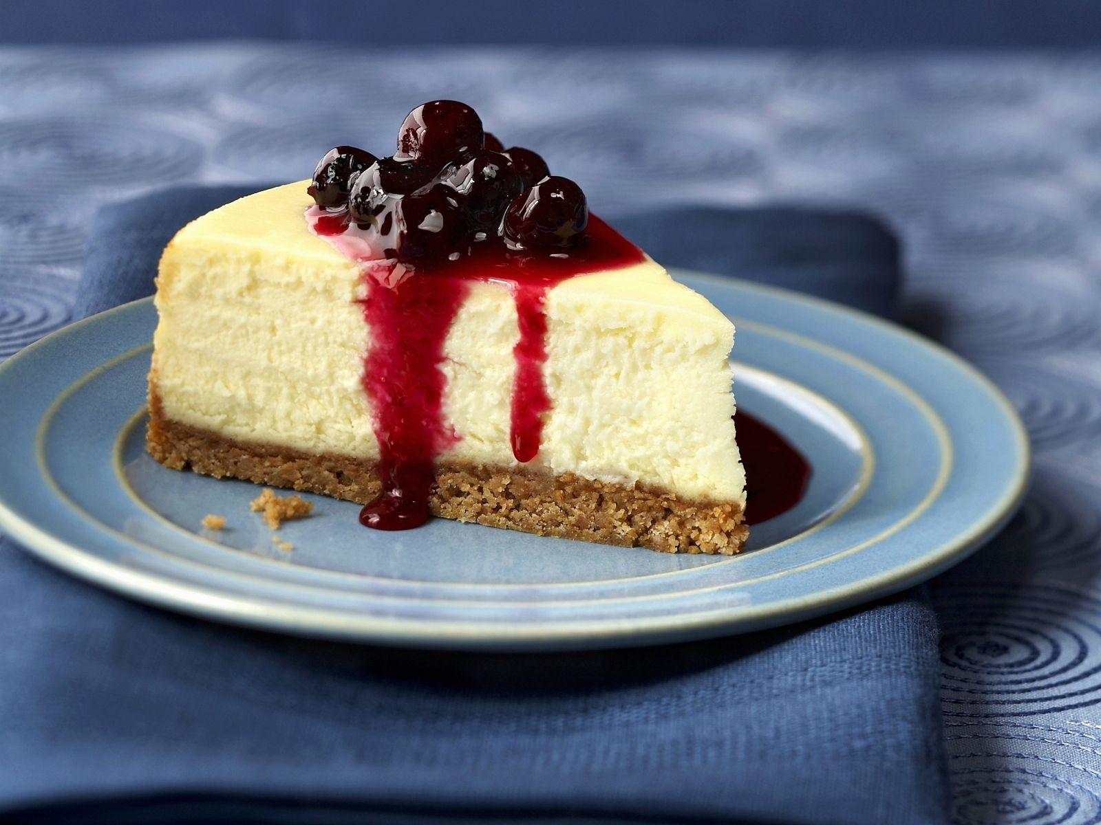 Quarkkuchen Mit Blaubeersosse Rezept Eat Smarter