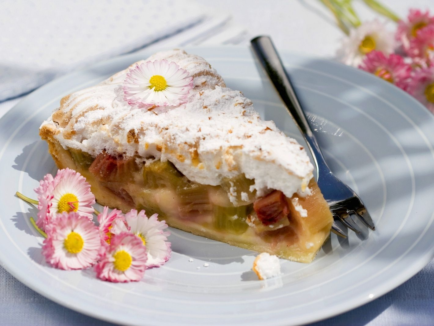 Rhabarber Baiser Kuchen Rezept Eat Smarter