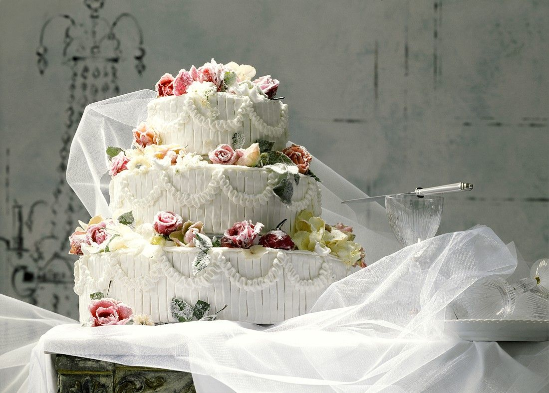 Rosen Hochzeitstorte Rezept Eat Smarter