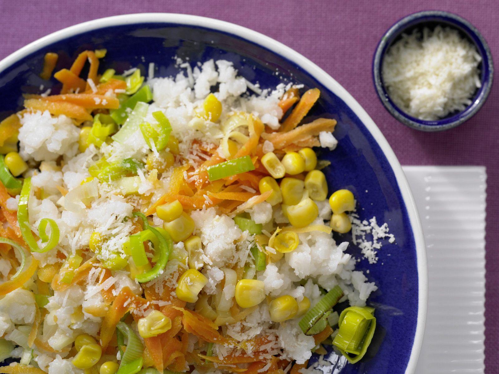 Schneller Gemüse-Risotto