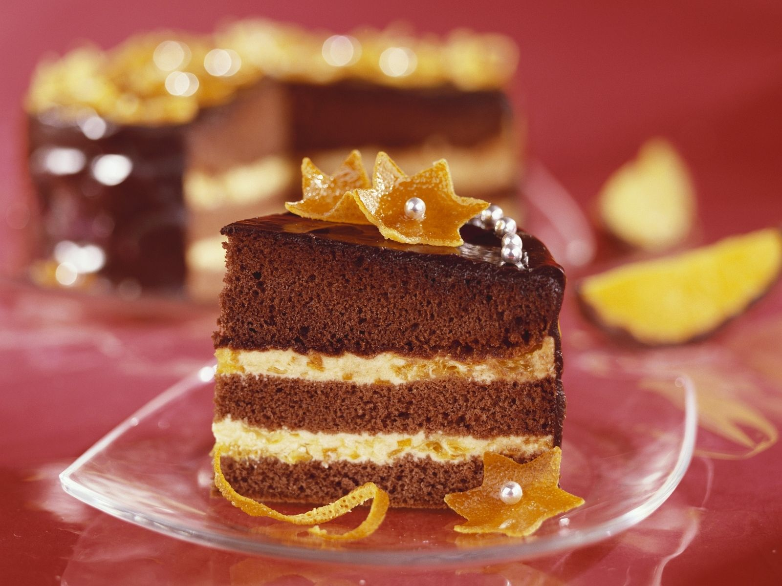 Schokoladen Orangen Torte Rezept Eat Smarter