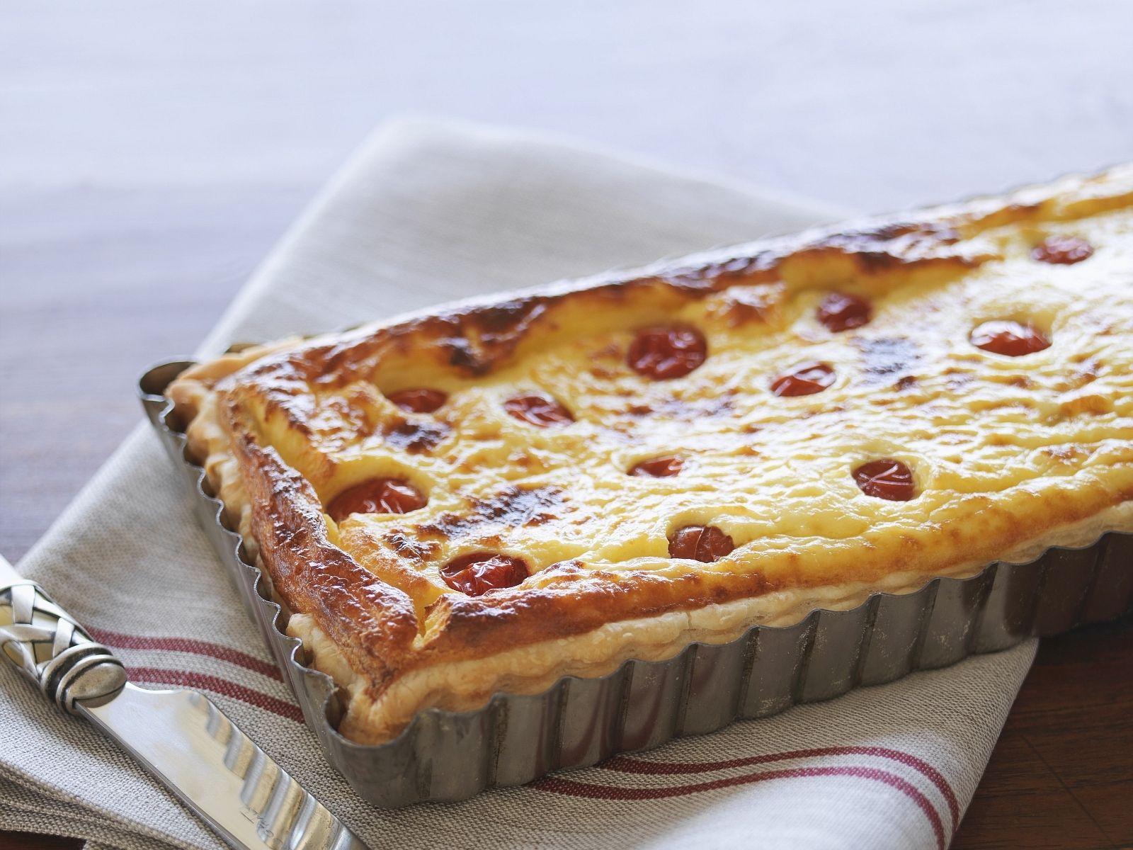 Tomaten Ricotta Kuchen Rezept Eat Smarter