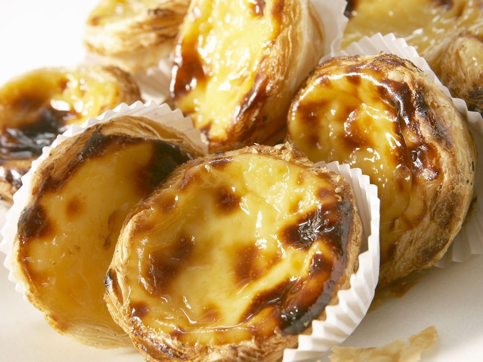Vanille Tartelettes Auf Portugiesische Art Rezept Eat Smarter