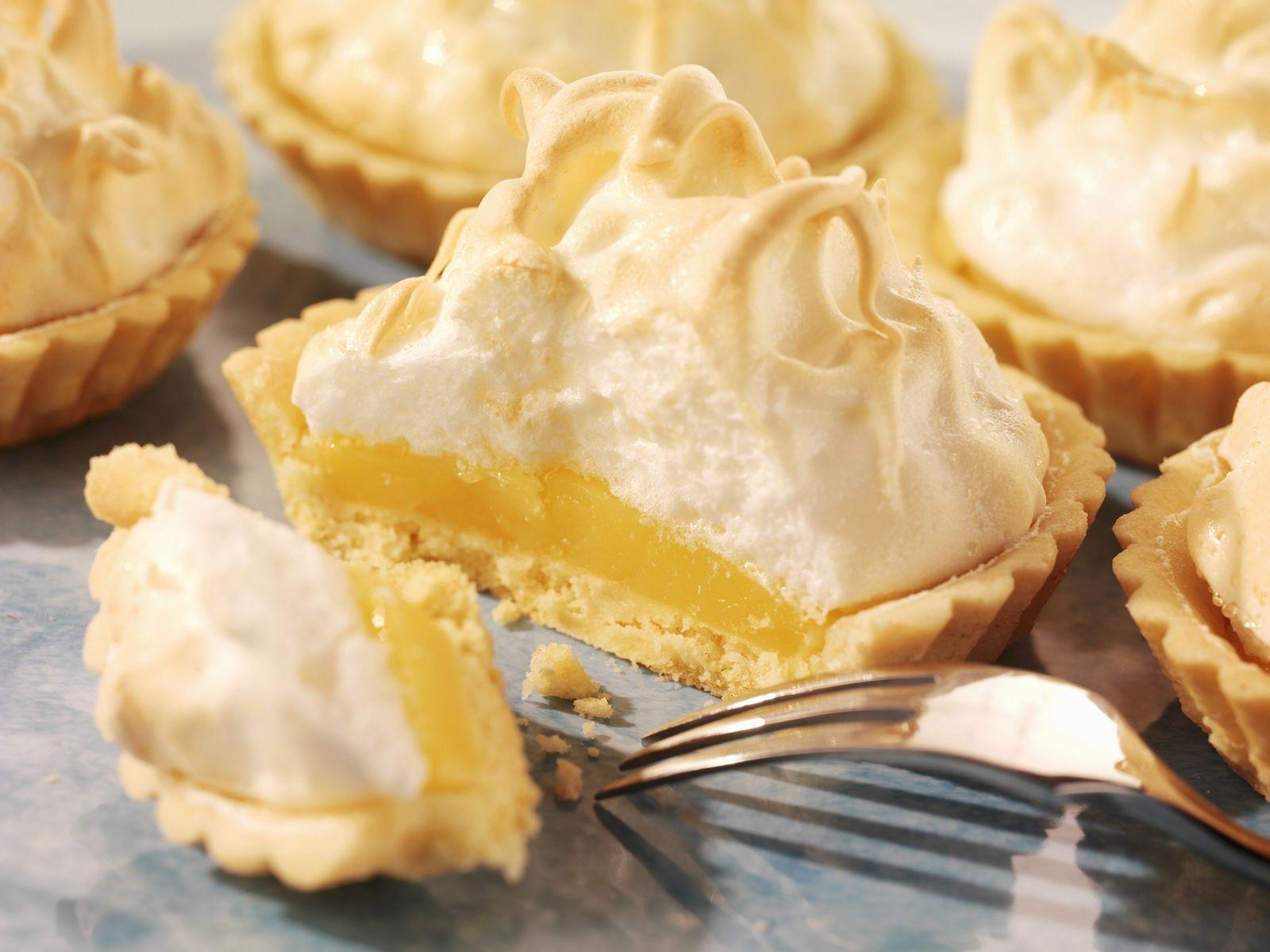 Zitronen Baiser Tartelettes Rezept Eat Smarter