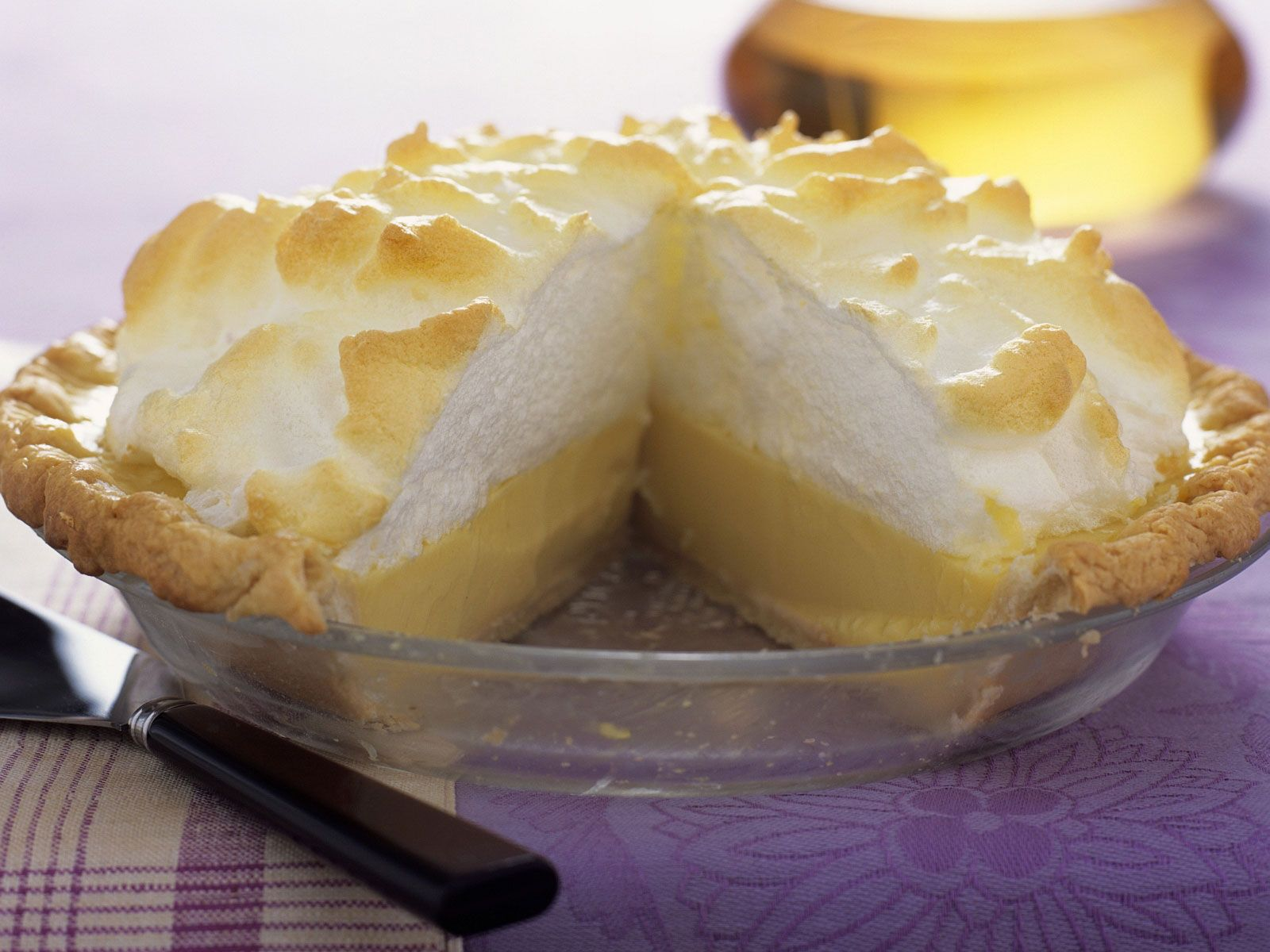 Zitronenkuchen Mit Baiser Rezept Eat Smarter
