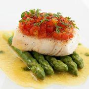 Spargelrezepte mit Fisch