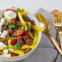Chili-con-Carne-Salat Rezept