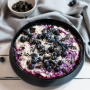 Vegane Overnight-Oats mit Heidelbeeren und Kokos Rezept