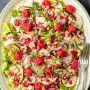 Zucchini-Mozzarella-Salat mit Himbeer-Dressing Rezept