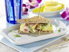 American Sandwich mit Putenbrust Rezept
