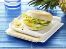 Ananas-Gurken-Bagel Rezept