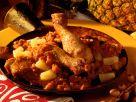 Ananas-Poularde mit Curry Rezept