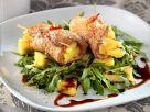 Ananas-Schweinfleischröllchen Rezept