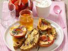 Ananas und Nektarinen mit Rosmarin Rezept