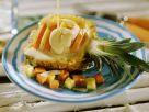 Ananas und Papaya mit Kokossauce Rezept