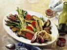 Antipasti aus gebratenem Gemüse Rezept