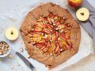 Apfel-Galette mit Haselnüssen Rezept