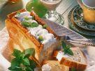 Apfelauflauf im Brotmantel Rezept