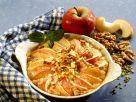 Apfelauflauf mit Nüssen Rezept