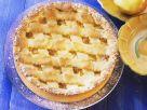 Apfelkuchen mit Teiggitter Rezept