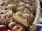 Apfelrührkuchen mit Walnüssen Rezept