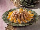 Aprikosen-Charlotte mit Nougat Rezept