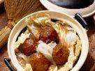 Asia-Fleischklöße mit Kohl Rezept