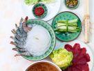 Asia-Fondue mit verschiedenen Einlagen Rezept