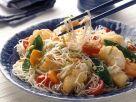Asianudeln mit Fisch Rezept