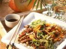 Asiatische Fleisch-Gemüsepfanne Rezept