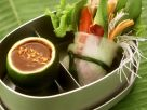 Asiatische Gemüserollen Rezept