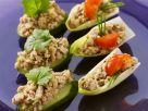 Asiatische Hähnchensalat-Häppchen Rezept