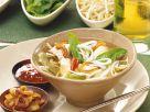 Asiatische Hähnchensuppe Rezept