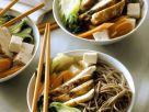 Asiatische Nudelsuppe mit Hähnchen Rezept