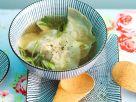 Asiatische Suppe mit Teigtaschen Rezept
