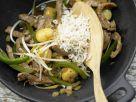 Asiatisches Rindfleisch aus dem Wok Rezept