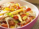 Asitaischer Nudel-Gemüsesalat Rezept